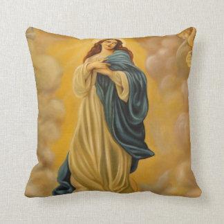 Virgin Mary Assumption Gift Throw Pillow 16x16