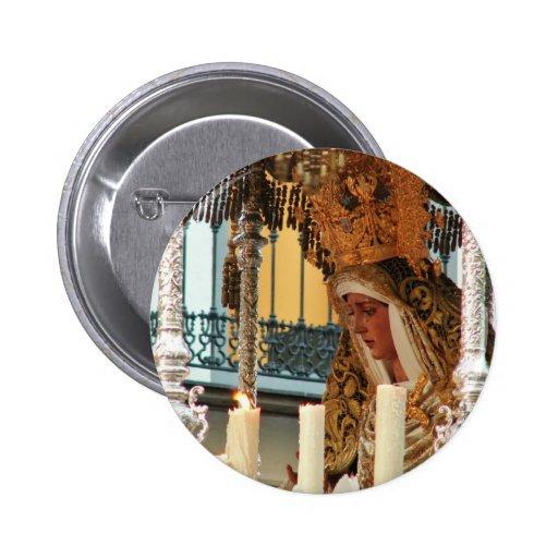 Virgin Mary Button