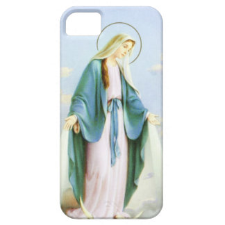 Virgin Mary Crescent Moon Barely There iPhone 5 Case