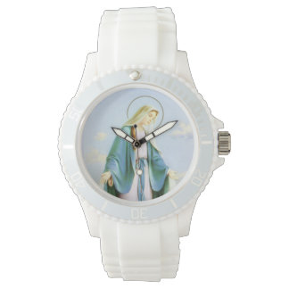 Virgin Mary Crescent Moon Watch