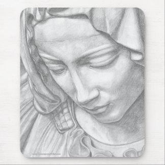 Virgin Mary - customizable mousepad