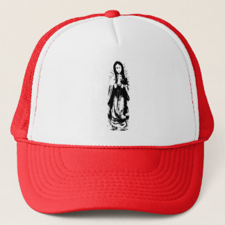 Virgin Mary full length trucker hat