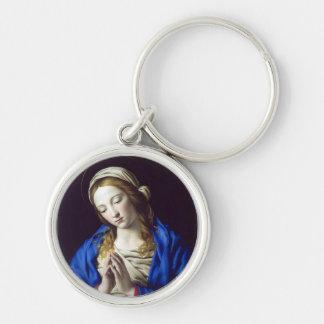 Virgin Mary in Prayer Keychains