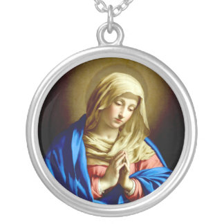 Virgin Mary in Prayer Pendant