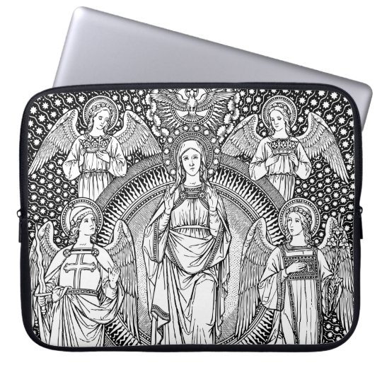 Virgin Mary Laptop Sleeve