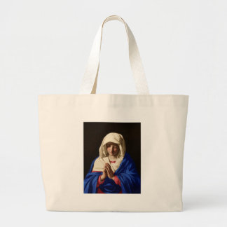 Virgin Mary Large Tote Bag