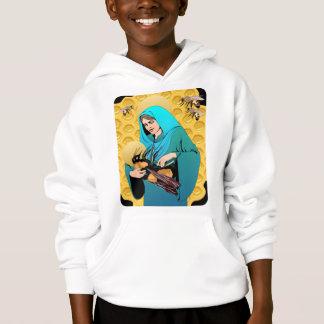 Virgin Mary Madonna & Bumble Bee