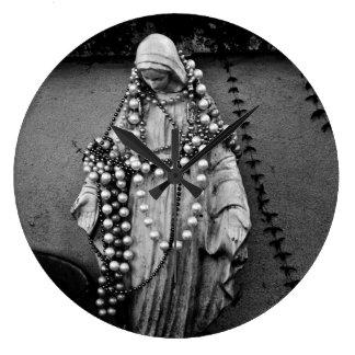 Virgin Mary Madonna Wall Clock