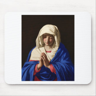 Virgin Mary Mouse Pad