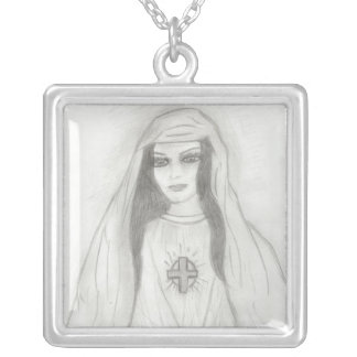 Virgin Mary Personalized Necklace