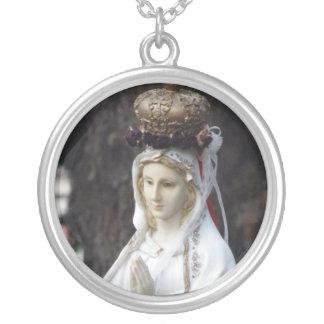 Virgin Mary Custom Necklace