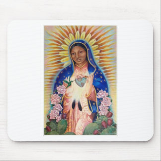 Virgin Mary - Our Lady Of Guadalupe Mouse Pad
