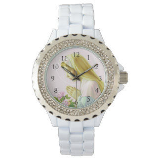 Virgin Mary Prayer Watch_With Numbers Wrist Watches