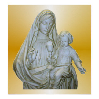 Virgin Mary Print