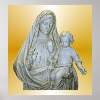 Virgin Mary Print