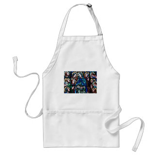 Virgin Mary stained glass window Apron