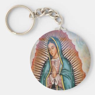 Virgin Mary / Virgen de Guadalupe Key Ring