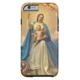 Virgin Mother Mary Baby Jesus Angels Tough iPhone 6 Case