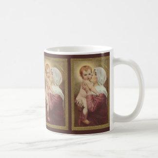Virgin Mother Mary Madonna Baby Jesus Coffee Mug