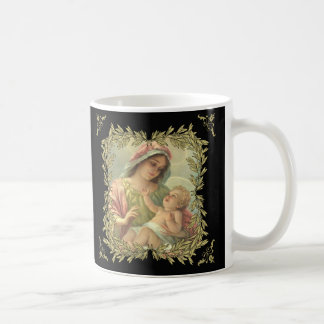 Virgin Mother Mary with Baby Jesus Coffee Mug