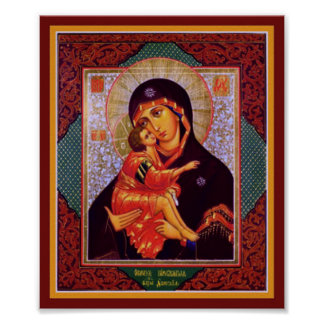 Virgin Mother of Vladimir Poster