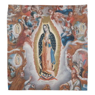 """Virgin of Guadalupe"" art bandana"