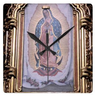 Virgin of Guadalupe Clocks