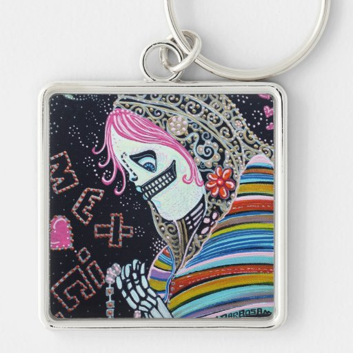 Virgin of Guadalupe Keychain