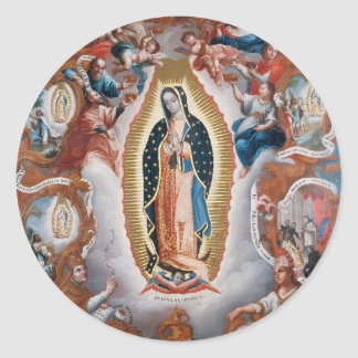 """Virgin of Guadalupe"" stickers"