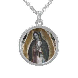 Virgin Of Guadalupe Virgin Mary Custom Necklace