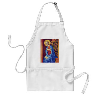 Virgin Of The Annunciation By Masolino (Best Quali Aprons