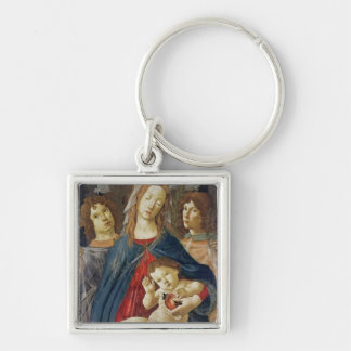 Virgin of the Pomegranate Keychain
