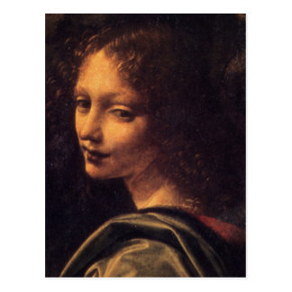Virgin of the Rocks - Angel Postcard