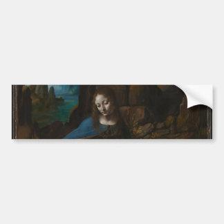 Virgin of the Rocks by Leonardo da Vinci Bumper Sticker