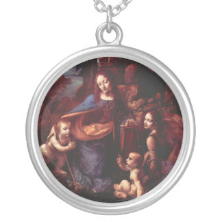 Virgin of the Rocks by Leonardo da Vinci Necklace