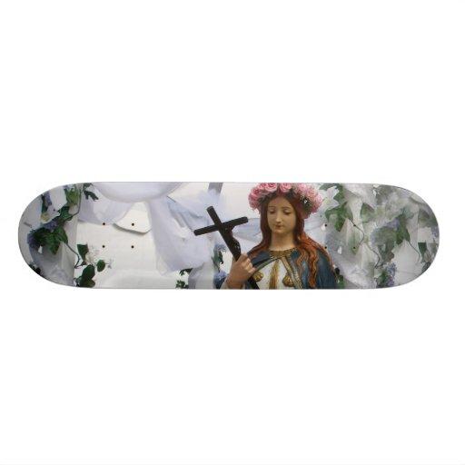 Virgin Of The Sea Skate Decks