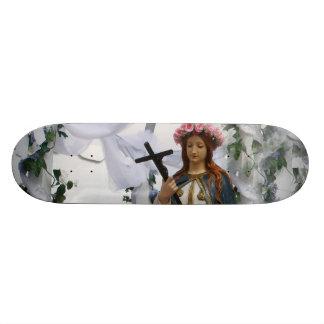 Virgin Of The Sea Skateboard