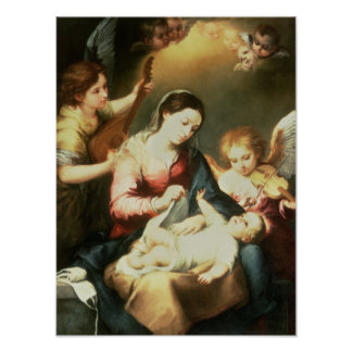 Virgin of the Swaddling Clothes Poster
