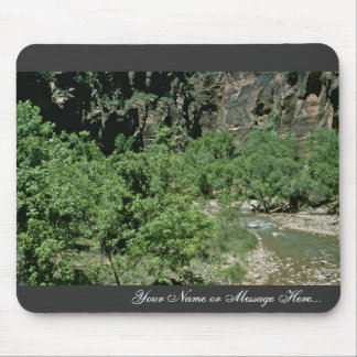 Virgin River at Zion National Park Mouse Pad