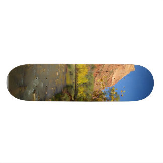 Virgin River In Zion Great Colors In The Fall Ther Skate Board Deck