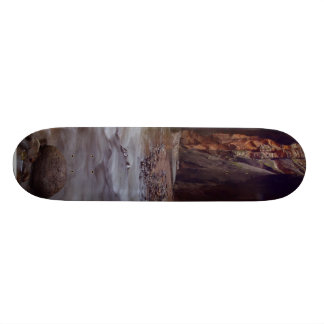 Virgin River Running Through Zion Narrows Skateboard