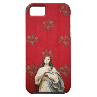 Virgin statue in a Spaccanapoli church, Naples Tough iPhone 5 Case