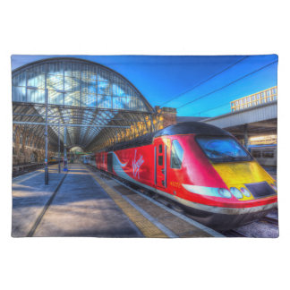 Virgin Train At Kings Cross Station Placemat
