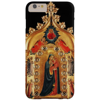 VIRGIN WITH CHILD AND ANGELS GOLD SACRED ART ICON BARELY THERE iPhone 6 PLUS CASE