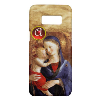 VIRGIN WITH CHILD  Red Ruby Monogram Case-Mate Samsung Galaxy S8 Case