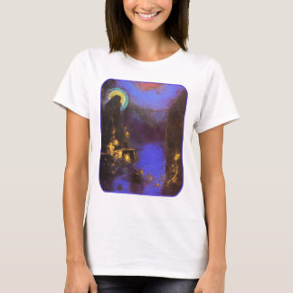 Virgin with Corona: Symbolist Painting by Redon T-Shirt
