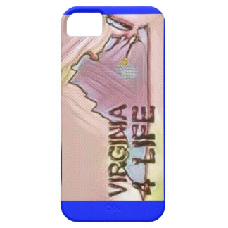 """Virginia 4 Life"" State Map Pride Design Case For The iPhone 5"