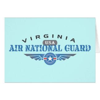 Virginia Air National Guard Greeting Card