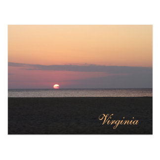 Virginia Beach in the Morning Postcard