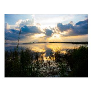 Virginia Beach Sunset Postcard